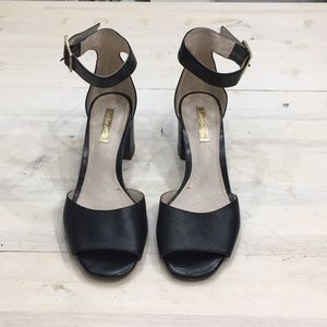 Louise et Cie Karisa leather ankle strap sz 6.5